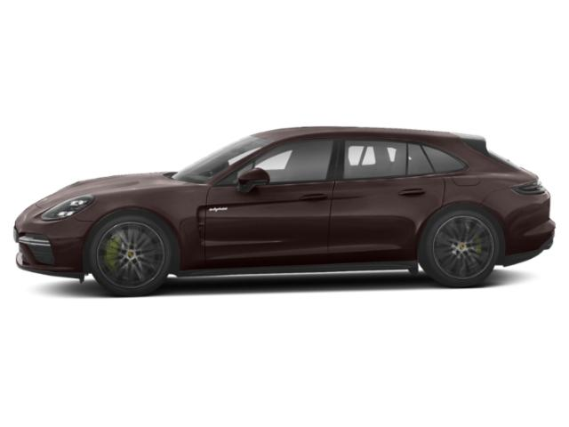 Mahogany Metallic 2018 Porsche Panamera Pictures Panamera Turbo S E-Hybrid Sport Turismo AWD photos side view