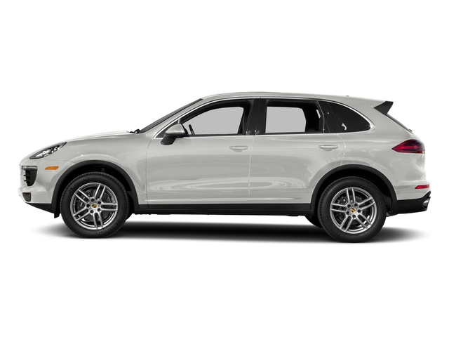 White 2018 Porsche Cayenne Pictures Cayenne AWD photos side view