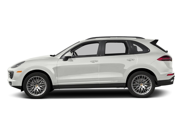 White 2018 Porsche Cayenne Pictures Cayenne Utility 4D Platinum AWD V6 photos side view