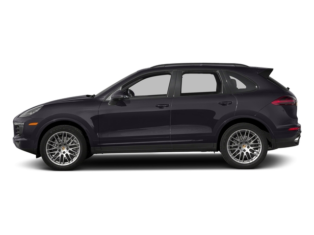 Purpurite Metallic 2018 Porsche Cayenne Pictures Cayenne Utility 4D Platinum AWD V6 photos side view