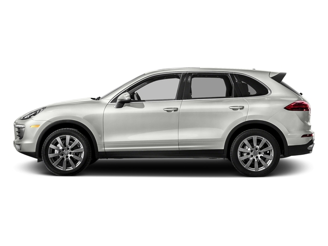 White 2018 Porsche Cayenne Pictures Cayenne S AWD photos side view