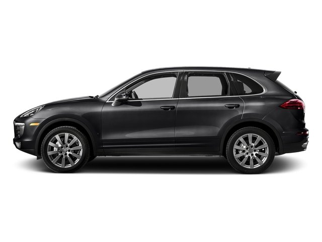 Black 2018 Porsche Cayenne Pictures Cayenne S AWD photos side view