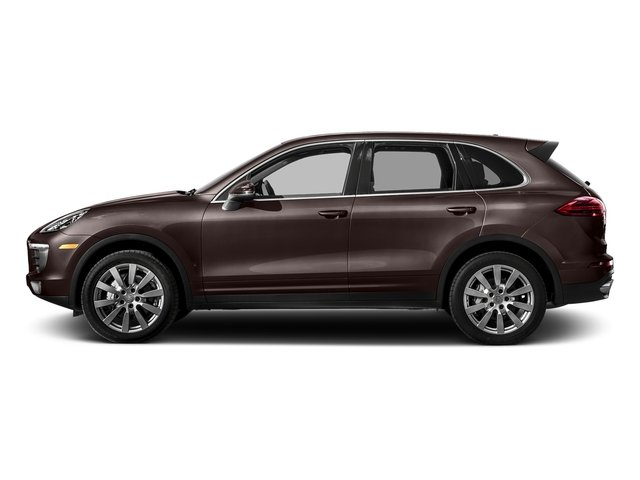 Mahogany Metallic 2018 Porsche Cayenne Pictures Cayenne S AWD photos side view