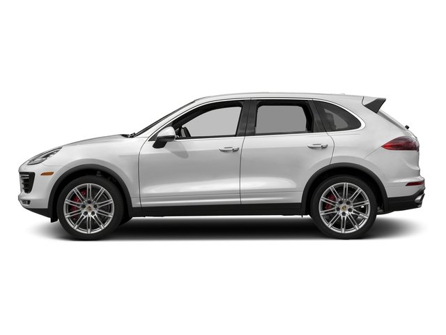 Carrara White Metallic 2018 Porsche Cayenne Pictures Cayenne Utility 4D S AWD V8 Turbo photos side view