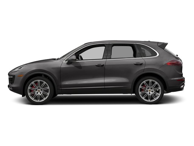 Meteor Grey Metallic 2018 Porsche Cayenne Pictures Cayenne Turbo S AWD photos side view