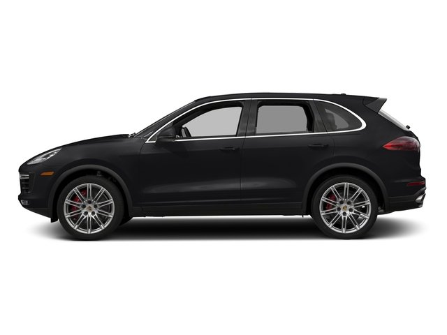 Black 2018 Porsche Cayenne Pictures Cayenne Utility 4D AWD V8 Turbo photos side view