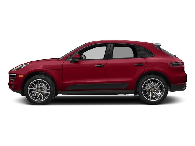 Carmine Red 2018 Porsche Macan Pictures Macan GTS AWD photos side view