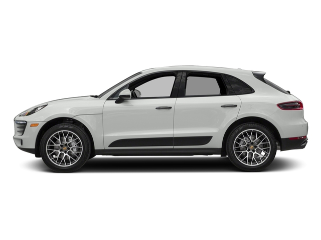 White 2018 Porsche Macan Pictures Macan Turbo AWD w/Performance Pkg photos side view
