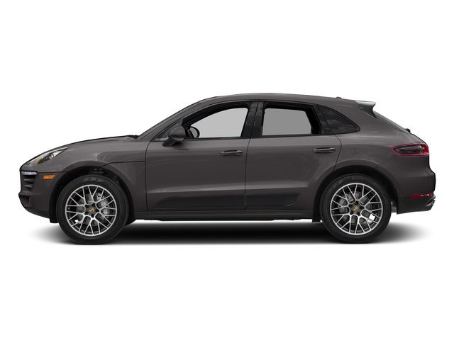 Agate Grey Metallic 2018 Porsche Macan Pictures Macan GTS AWD photos side view