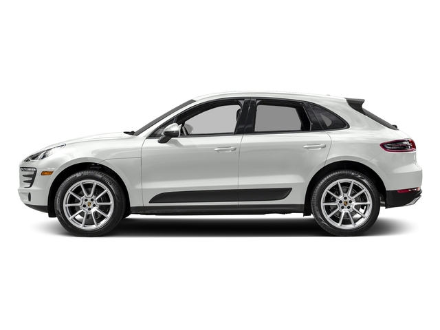 White 2018 Porsche Macan Pictures Macan AWD photos side view