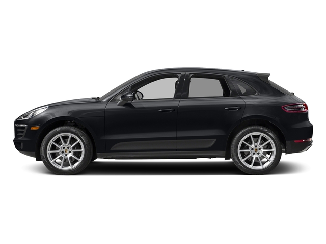 Jet Black Metallic 2018 Porsche Macan Pictures Macan AWD photos side view