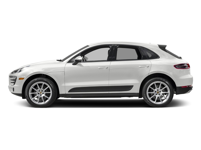 Carrara White Metallic 2018 Porsche Macan Pictures Macan AWD photos side view