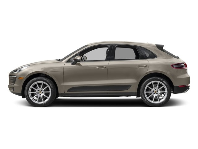 Palladium Metallic 2018 Porsche Macan Pictures Macan AWD photos side view