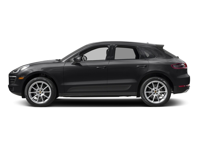 Black 2018 Porsche Macan Pictures Macan AWD photos side view