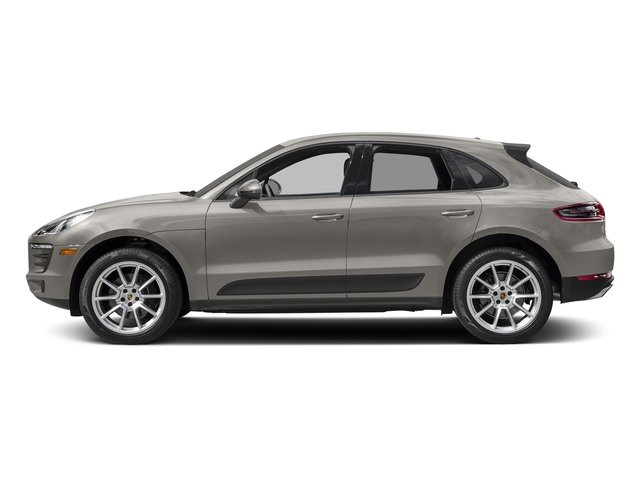 Agate Grey Metallic 2018 Porsche Macan Pictures Macan AWD photos side view