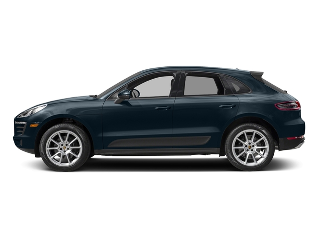 Night Blue Metallic 2018 Porsche Macan Pictures Macan AWD photos side view