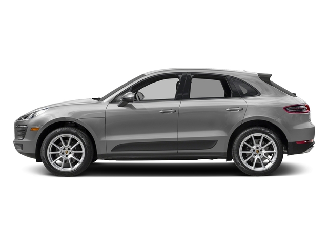 Rhodium Silver Metallic 2018 Porsche Macan Pictures Macan AWD photos side view