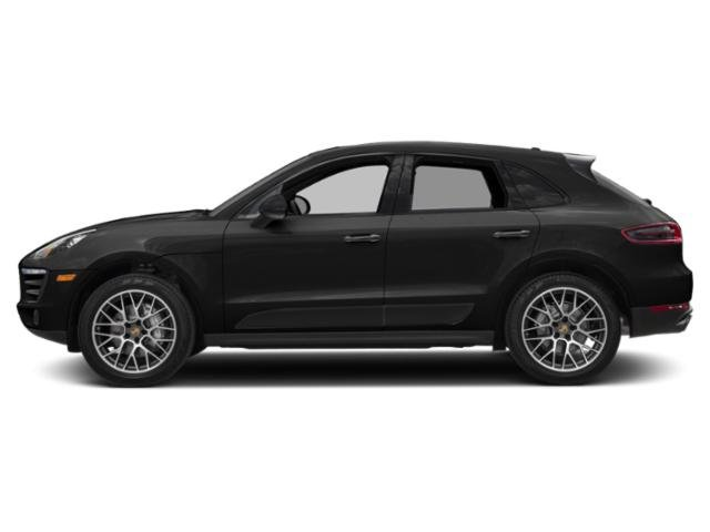 Custom Color Metallic 2018 Porsche Macan Pictures Macan Turbo AWD w/Performance Pkg photos side view