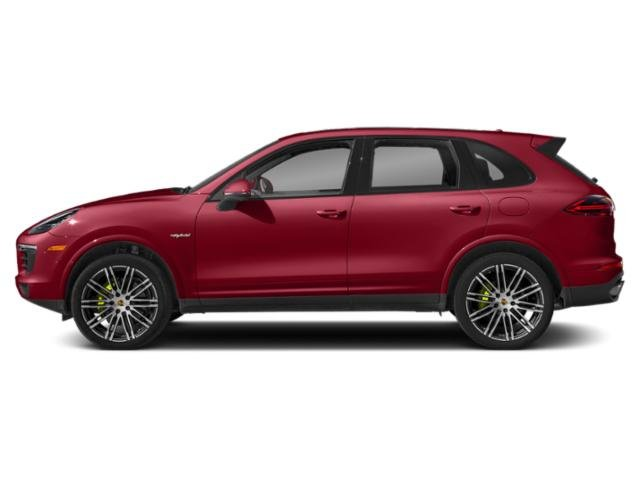 Carmine Red 2018 Porsche Cayenne Pictures Cayenne S E-Hybrid AWD photos side view