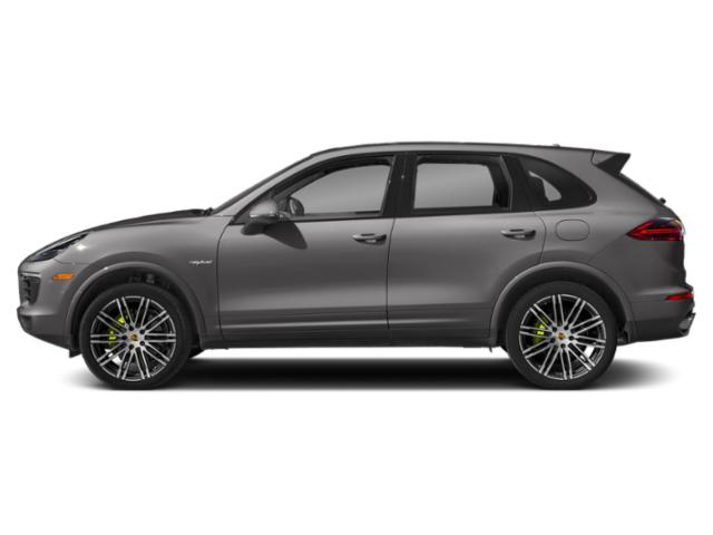 Meteor Grey Metallic 2018 Porsche Cayenne Pictures Cayenne S E-Hybrid AWD photos side view