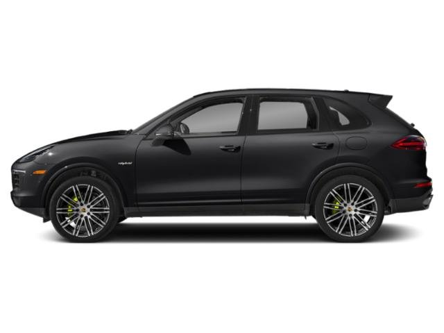 Black 2018 Porsche Cayenne Pictures Cayenne S E-Hybrid AWD photos side view