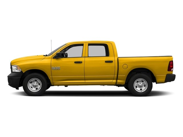 Yellow 2018 Ram Truck 1500 Pictures 1500 Tradesman 4x4 Crew Cab 5'7 Box photos side view
