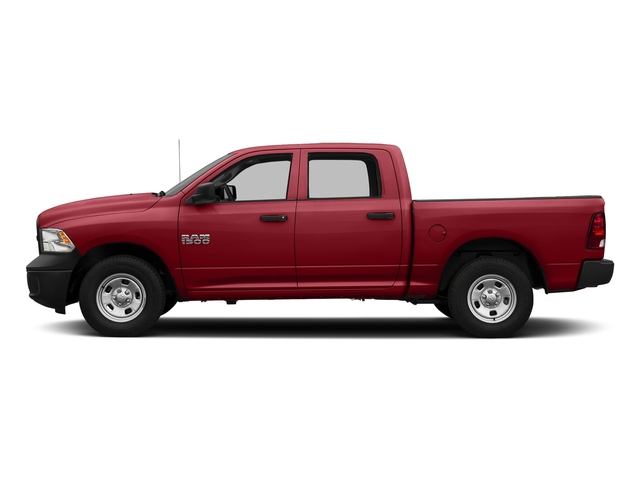 Flame Red Clearcoat 2018 Ram Truck 1500 Pictures 1500 Tradesman 4x4 Crew Cab 5'7 Box photos side view