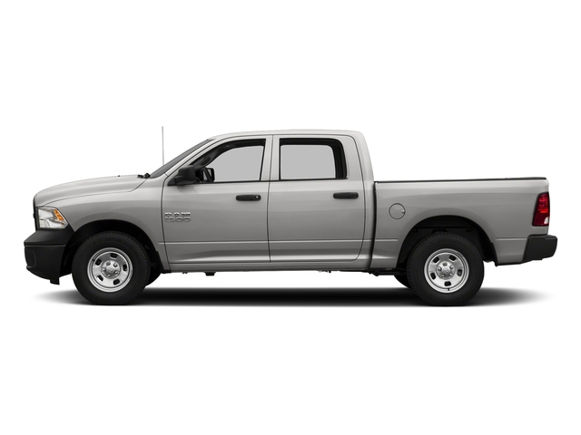 Bright Silver Metallic Clearcoat 2018 Ram Truck 1500 Pictures 1500 Tradesman 4x4 Crew Cab 5'7 Box photos side view