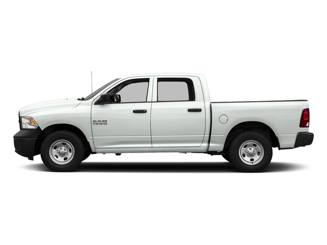 Bright White Clearcoat 2018 Ram Truck 1500 Pictures 1500 Tradesman 4x4 Crew Cab 5'7 Box photos side view