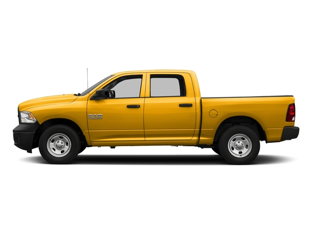 Detonator Yellow Clearcoat 2018 Ram Truck 1500 Pictures 1500 Tradesman 4x4 Crew Cab 5'7 Box photos side view