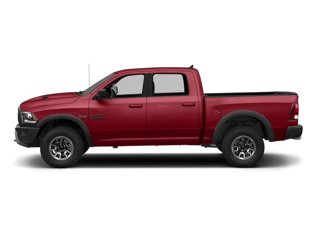 Flame Red Clearcoat 2018 Ram Truck 1500 Pictures 1500 Rebel 4x4 Crew Cab 5'7 Box photos side view