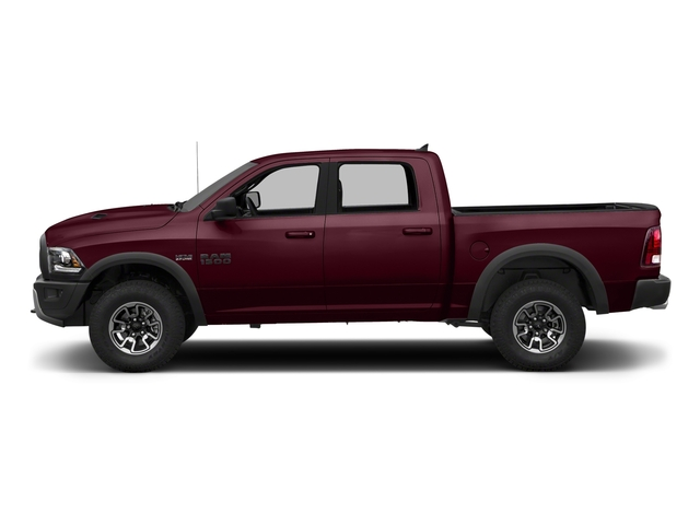 Delmonico Red Pearlcoat 2018 Ram Truck 1500 Pictures 1500 Rebel 4x4 Crew Cab 5'7 Box photos side view