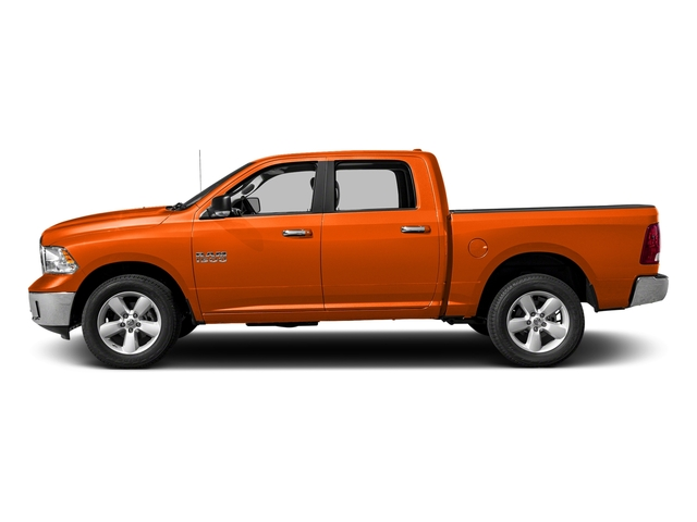 Omaha Orange 2018 Ram Truck 1500 Pictures 1500 SLT 4x4 Crew Cab 5'7 Box photos side view