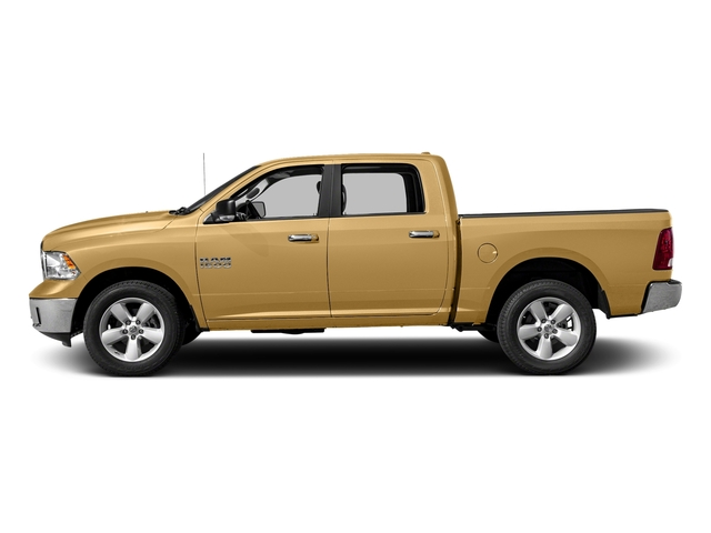 Light Cream 2018 Ram Truck 1500 Pictures 1500 SLT 4x4 Crew Cab 5'7 Box photos side view