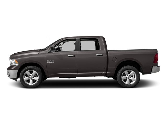 Granite Crystal Metallic Clearcoat 2018 Ram Truck 1500 Pictures 1500 SLT 4x4 Crew Cab 5'7 Box photos side view