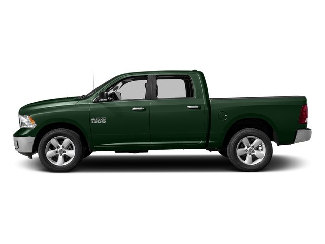 Timberline Green Pearlcoat 2018 Ram Truck 1500 Pictures 1500 SLT 4x4 Crew Cab 5'7 Box photos side view