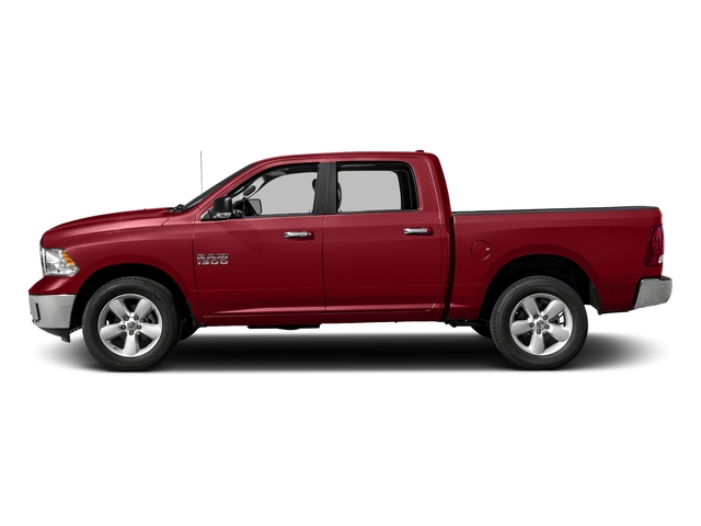 Flame Red Clearcoat 2018 Ram Truck 1500 Pictures 1500 SLT 4x4 Crew Cab 5'7 Box photos side view