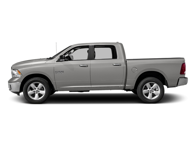 Bright Silver Metallic Clearcoat 2018 Ram Truck 1500 Pictures 1500 SLT 4x4 Crew Cab 5'7 Box photos side view