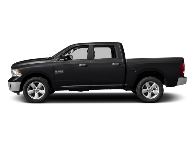 Black Clearcoat 2018 Ram Truck 1500 Pictures 1500 SLT 4x4 Crew Cab 5'7 Box photos side view