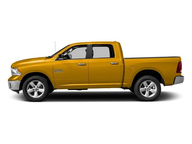 Detonator Yellow Clearcoat 2018 Ram Truck 1500 Pictures 1500 SLT 4x4 Crew Cab 5'7 Box photos side view