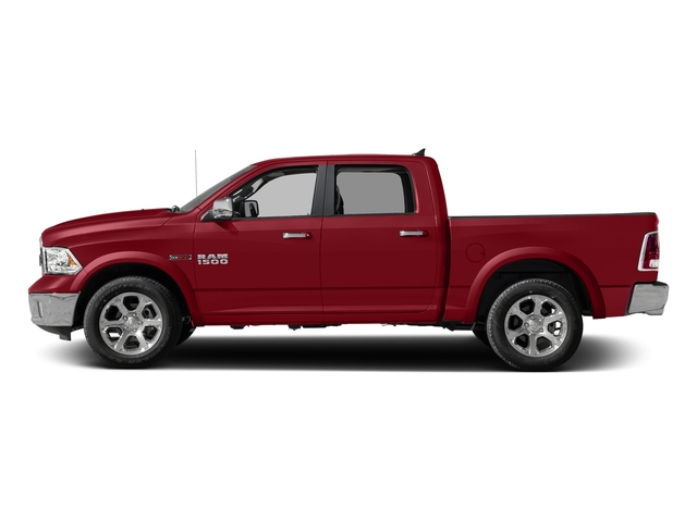 Flame Red Clearcoat 2018 Ram Truck 1500 Pictures 1500 Laramie 4x2 Crew Cab 5'7 Box photos side view