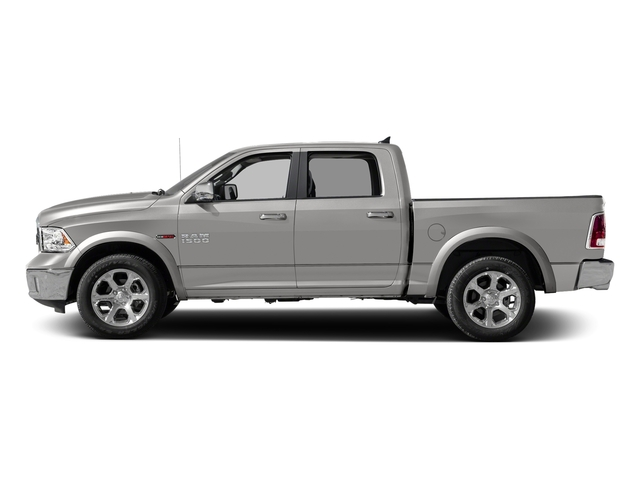 Bright Silver Metallic Clearcoat 2018 Ram Truck 1500 Pictures 1500 Laramie 4x2 Crew Cab 5'7 Box photos side view