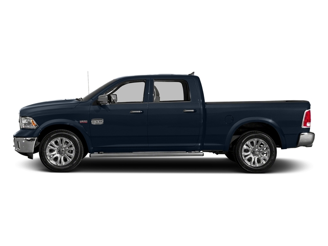 True Blue Pearlcoat 2018 Ram Truck 1500 Pictures 1500 Longhorn 4x2 Crew Cab 5'7 Box *Ltd Avail* photos side view