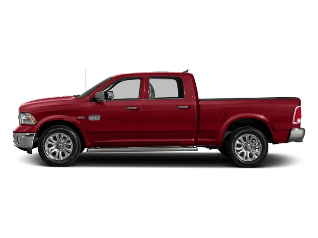 Flame Red Clearcoat 2018 Ram Truck 1500 Pictures 1500 Longhorn 4x2 Crew Cab 5'7 Box *Ltd Avail* photos side view