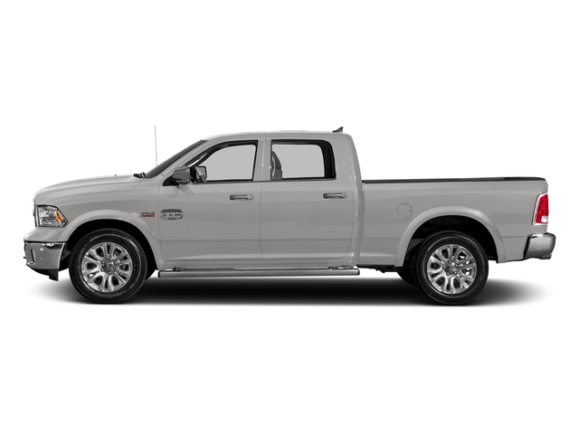 Bright Silver Metallic Clearcoat 2018 Ram Truck 1500 Pictures 1500 Longhorn 4x2 Crew Cab 5'7 Box *Ltd Avail* photos side view
