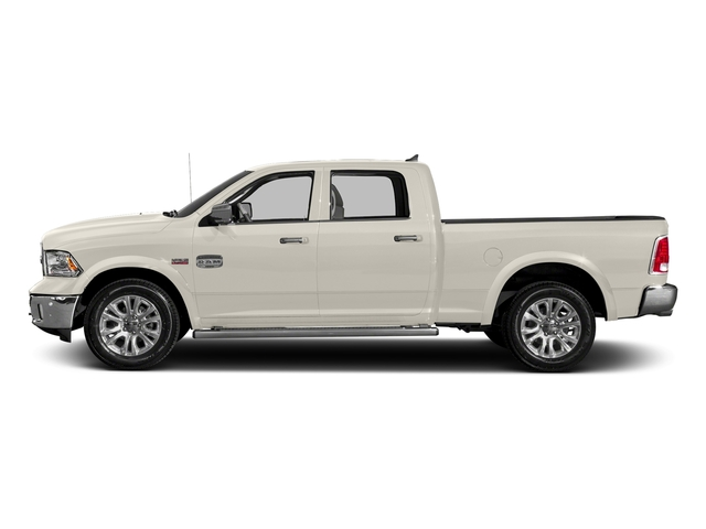 Pearl White 2018 Ram Truck 1500 Pictures 1500 Longhorn 4x2 Crew Cab 5'7 Box *Ltd Avail* photos side view