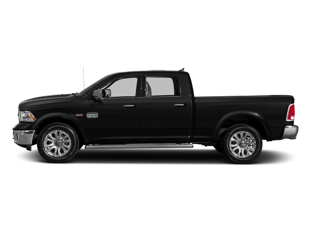 Brilliant Black Crystal Pearlcoat 2018 Ram Truck 1500 Pictures 1500 Longhorn 4x2 Crew Cab 5'7 Box *Ltd Avail* photos side view