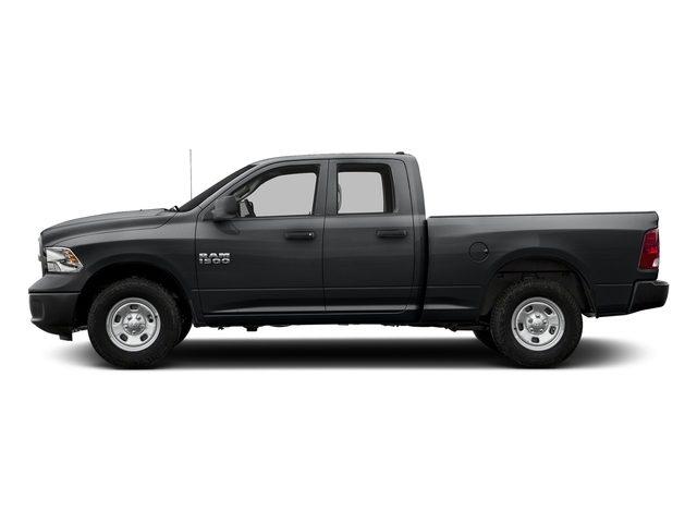 Granite Crystal Metallic Clearcoat 2018 Ram Truck 1500 Pictures 1500 Express 4x4 Quad Cab 6'4 Box photos side view