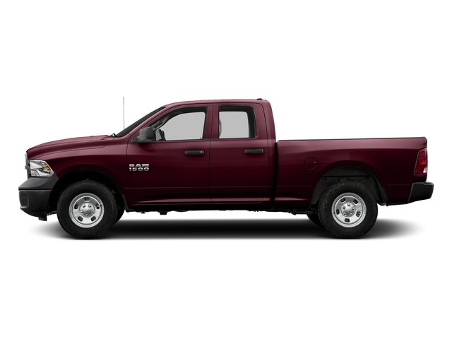 Delmonico Red Pearlcoat 2018 Ram Truck 1500 Pictures 1500 Express 4x4 Quad Cab 6'4 Box photos side view