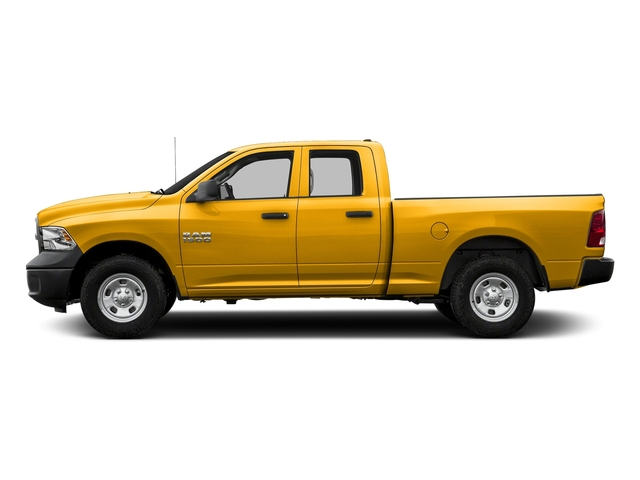 Detonator Yellow Clearcoat 2018 Ram Truck 1500 Pictures 1500 Express 4x4 Quad Cab 6'4 Box photos side view